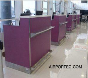 Check-in counter airportec.com