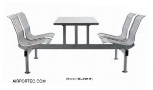 Stainless steel dining table series WL300-01 airportec.com