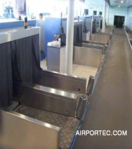 Weighing conveyor and induction conveyor2 airportec.com