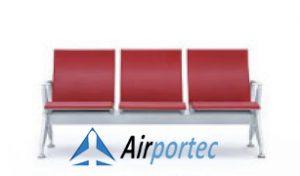 Jual kursi bandara harga termurah 2368 red 3