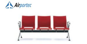 B1 3 Seater with 2 arms red