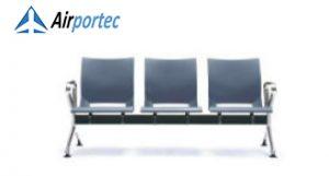 harga kursi panjang stainless B1 3 setaer with 2 arms Gray
