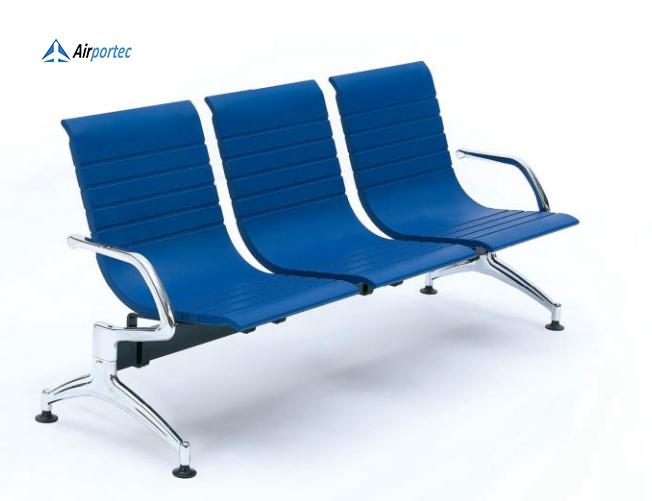 kursi tunggu 4 dudukan stainless B6S Seat Shell