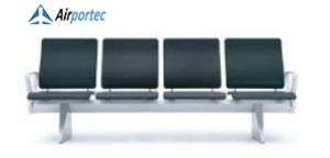 daftar harga kursi tunggu BOW 4 setaer with 2 arms black
