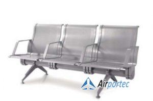 Harga bangku tunggu stainless 3 seat murah GC-9086