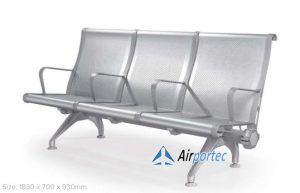 Jual Kursi stainless steel ruang tunggu GC-9088