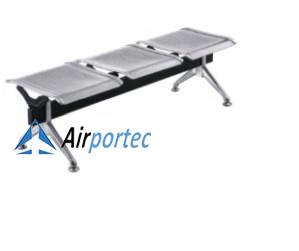 Kursi tunggu stainless steel murah tanpa dudukan GCLS01