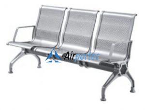 Kursi tunggu stainless steel murah untuk ruang tunggu GCWB01