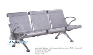 Harga kursi tunggu aluminium murah GC1618