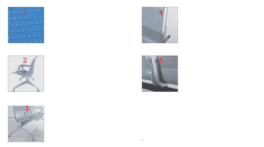 Spesifikasi dan fitur kursi tunggu bandara