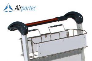 Jual Troli barang bandara murah dan berkualitas GCAL-812 Tampak keranjang atas