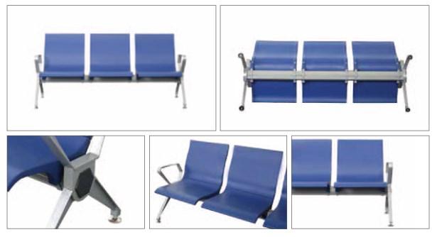 Contoh Penampilan kursi tunggu dengan berbagai sudut