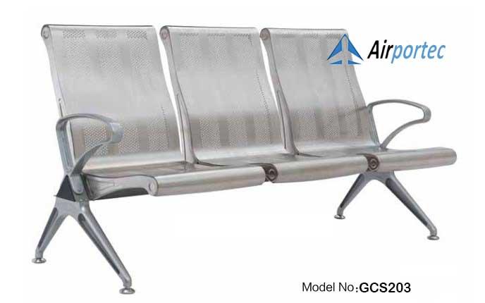 Harga kursi bangku tunggu 3 dudukan murah GCS203