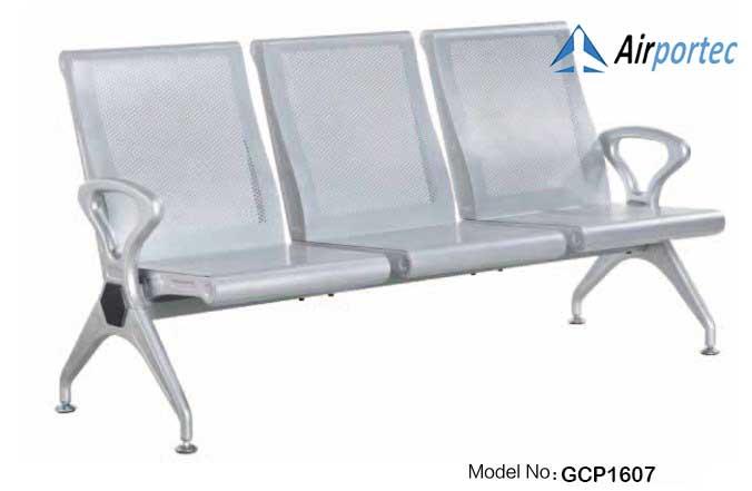 Harga kursi tunggu stainless 3 dudukan GCP1607