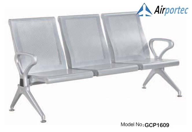 Jual kursi bandara murah 3 tempat duduk dengan sandaran GCP1609