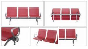 Penampakan kursi tunggu stasiun GCP108