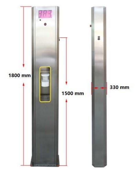 Detail Temperature measuring sterilizer (3)